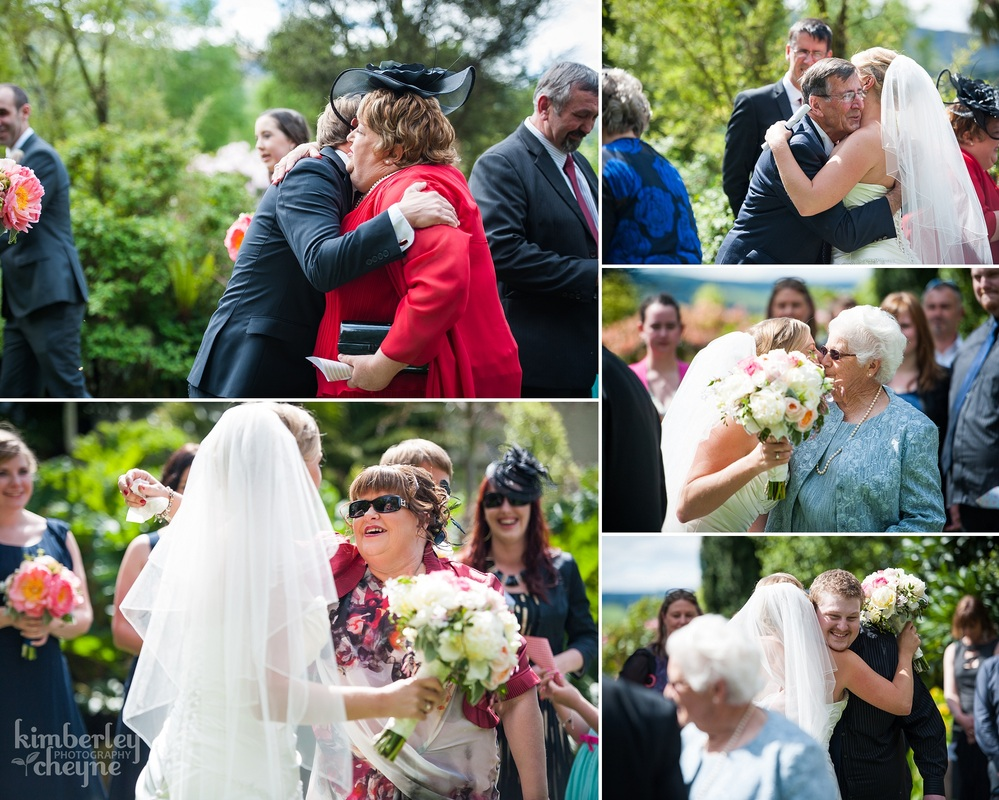 Dunedin Wedding, KImberley Cheyne Photography, Grandview Gardens Wedding Ceremony