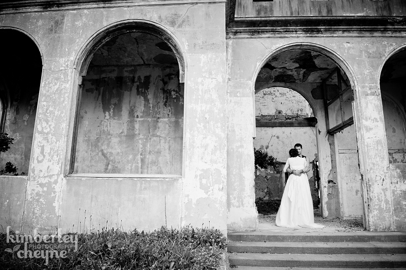 Beautiful castle wedding photos, Dunedin