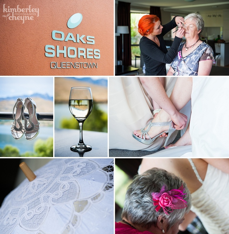 Oaks Shores, Queenstown Wedding