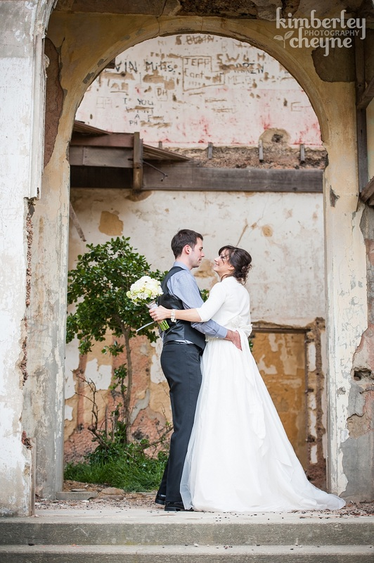 Cargill's Castle Ruins, Dunedin wedding