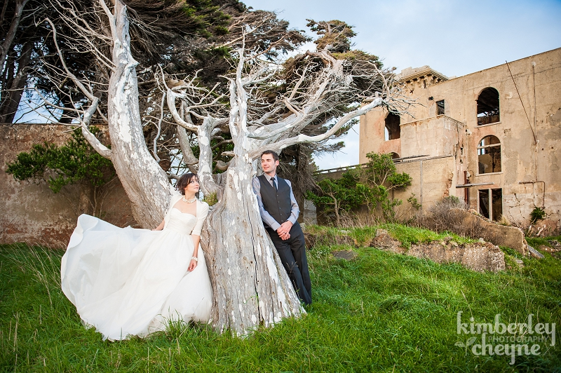 Cargill's Castle, Dunedin wedding photography